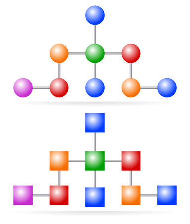 hierarchical: Hierarchical structures, topography, pyramid, triangle diagram, flowchart. Organizational structure chart. Pyramid scheme.