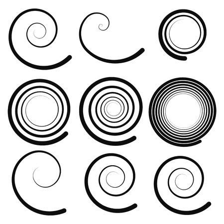 hypnotise: Spiral elements