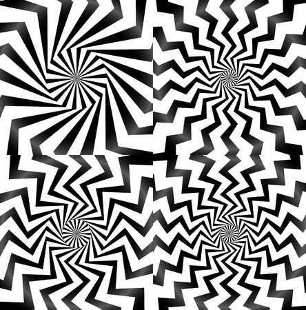 spire: Whirlpool, spiral, spire, vortex background set