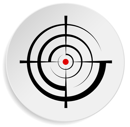 Crosshair, reticle, viewfinder, target graphics