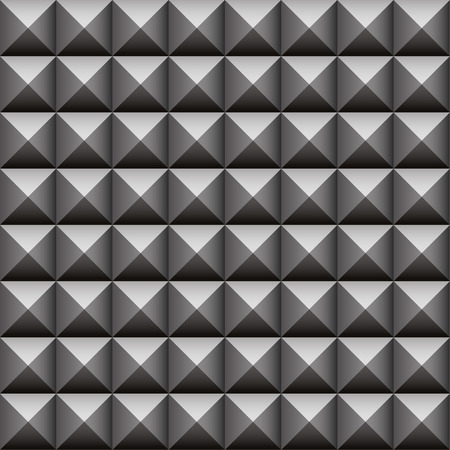 Studded, pointed background, seamless pattern Vector