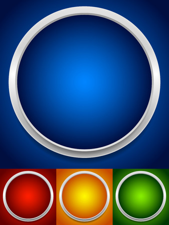 Circle backgrounds Vector