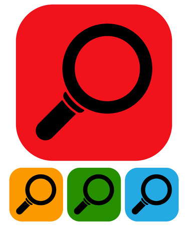 scrutinise: Simple magnifier icons