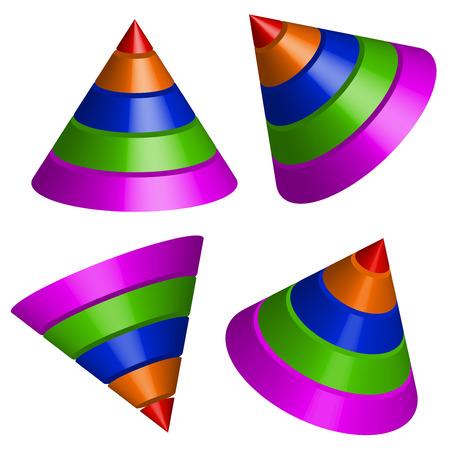pyramidal: Pyramidal shapes render