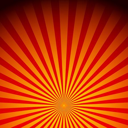 Rays, sunburst, sunrise vector Illustration