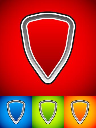 Vector shield elements Vector