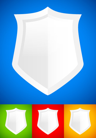 Shield background Vector