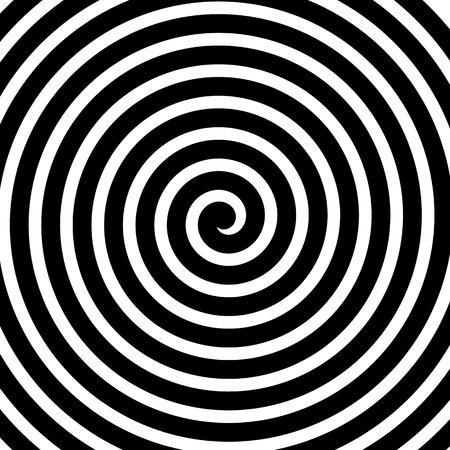 渦巻、スパイラル、同心円の線、背景の回転、円を描く