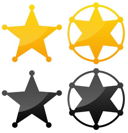 sherif: Sheriffs badges