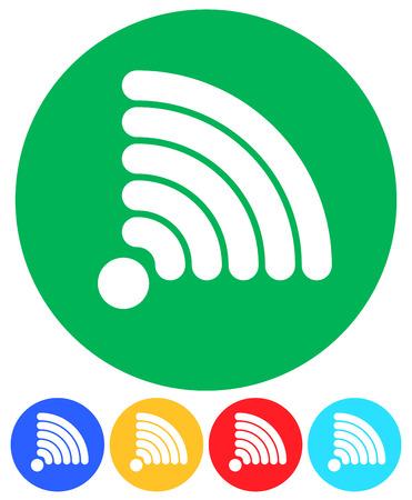 syndication: Gr�ficos de se�al para tecnolog�a inal�mbrica, los conceptos que transmiten