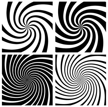 hypnotism: Spiral, whirlpool background set