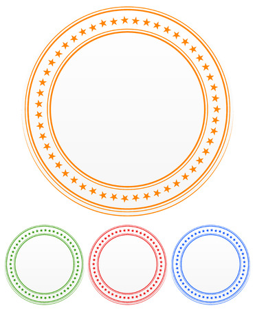 circle design: Star circles