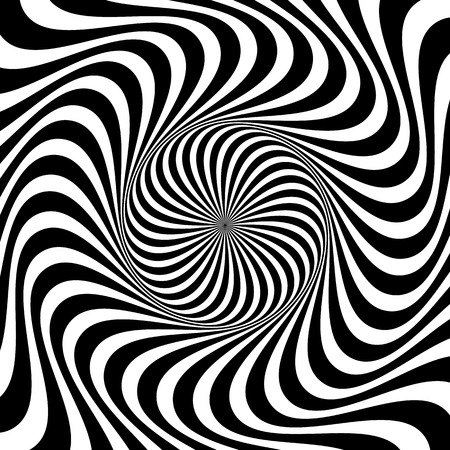 Wervelende achtergrond. Abstracte vormen die vortex fenomeen.