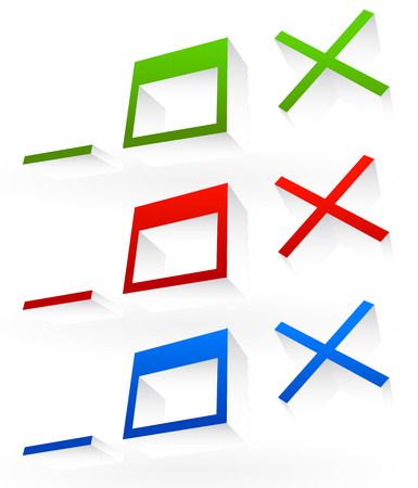 Application or software control buttons. Minimize, maximize and close buttons of computer program Vector