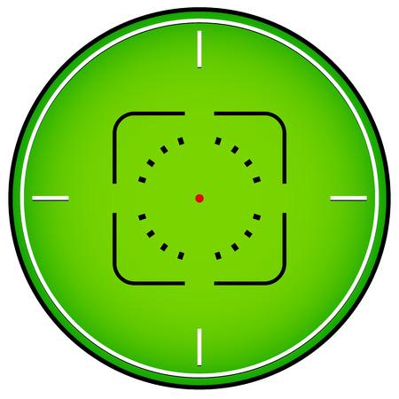 marksman: Crosshair, reticle graphics Illustration