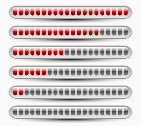 progressbar: Loading or measuring bars, interface elements