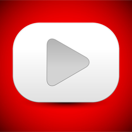 playback: White play button icon, or background