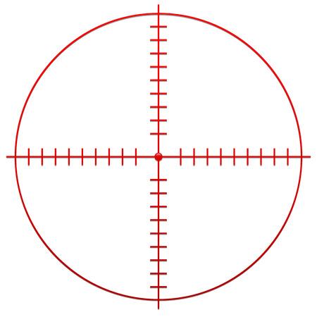 fusil de chasse: Crosshair, réticule