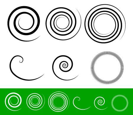 Simple spiral set