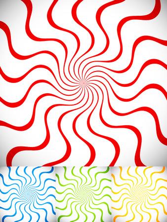 hypnotism: Spiral background(s)