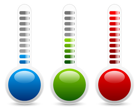 Thermometer graphics Vector