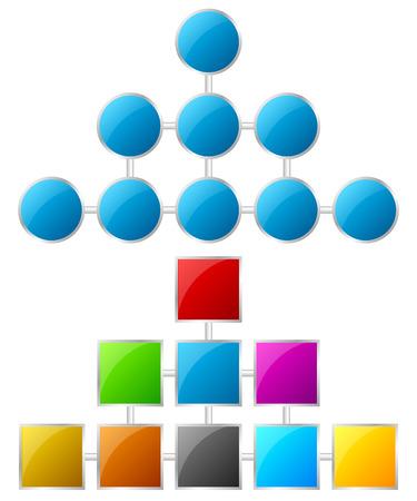 mindmap: Topolog�a, tablas de jerarqu�a Vectores