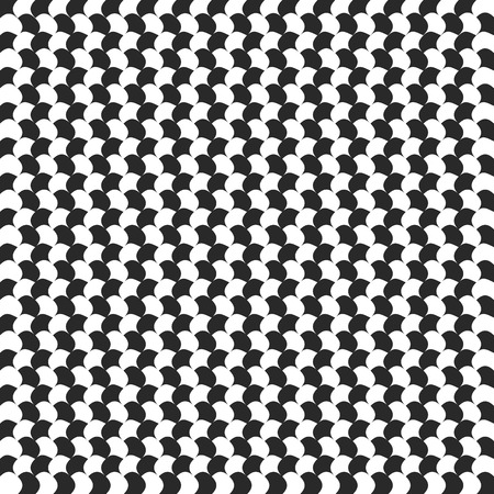 Abstract checkered background with distortion
