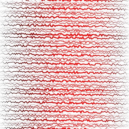 shatter: Abstract wavy lines background Illustration