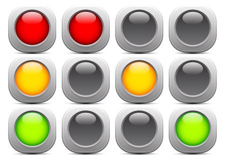Traffic light illustration.
