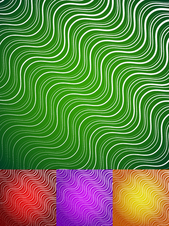 transverse: Abstract wavy lines background Illustration