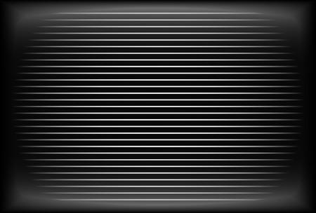television antigua: Antiguo pantalla de TV - analógica, pantalla CRT sin recepción