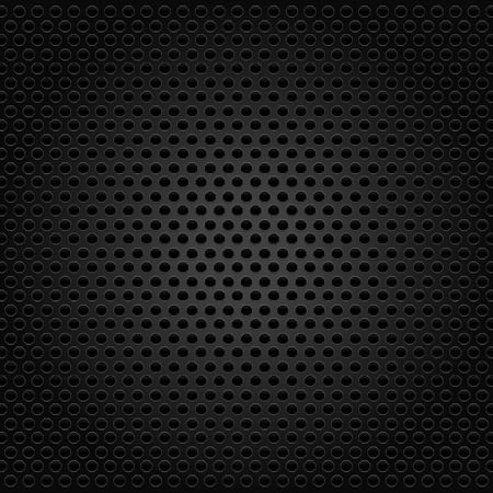 Abstract industrial  carbon background, surface with hexagons. Shadow and highlight effect