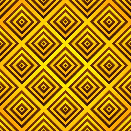 psy: Yellow-orange seamless pattern: squares