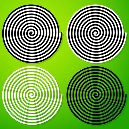hypnotise: Hypnotic spiral