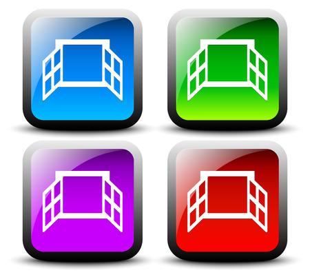 casement: Window icon series