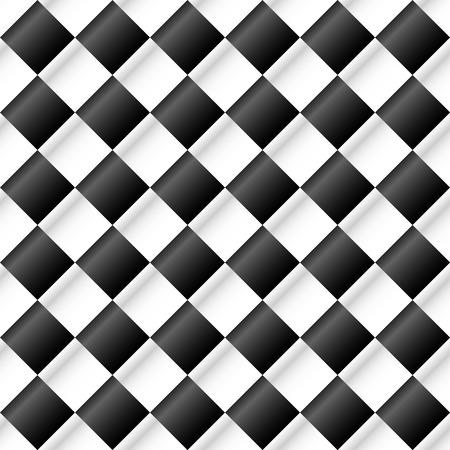 Illuminated checkered background Vector