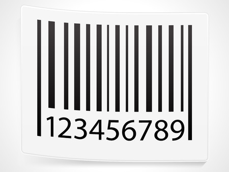 Peeling barcode sticker