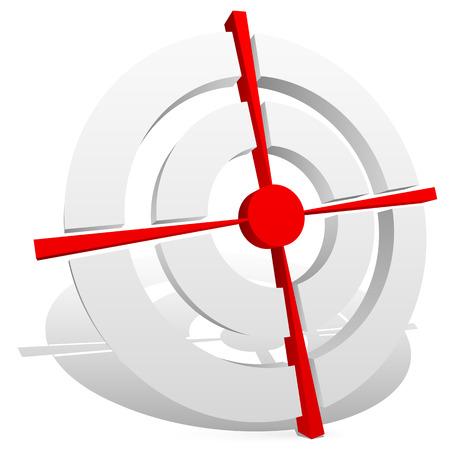 reticle: Crosshair, reticle