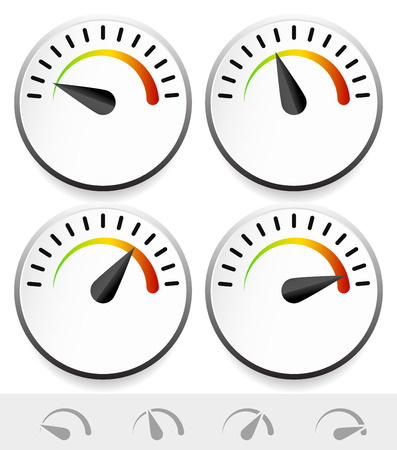 barometer: Stylish, compact dial templates Illustration
