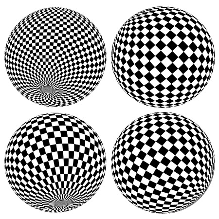 spherule: Gridded or wireframe spheres