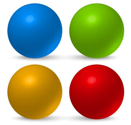 spherule: Glossy, 3d balls