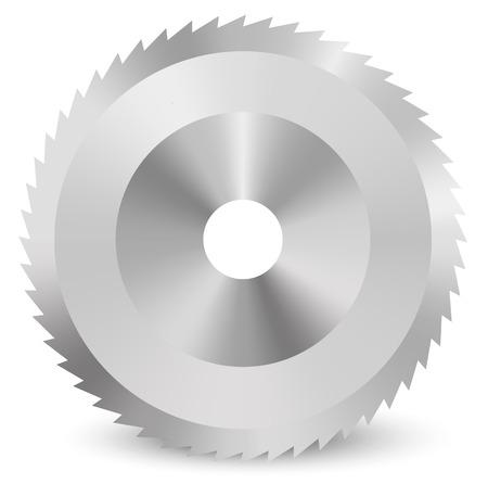 circular saw: Circular saw vector Illustration