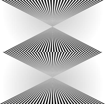 surrealistic: Surreal, angular shape. Vector illustration Illustration