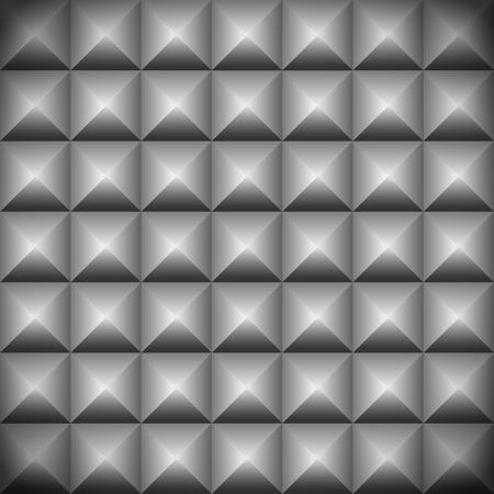 puntig: Bezaaid, puntige oppervlak, achtergrond Stock Illustratie