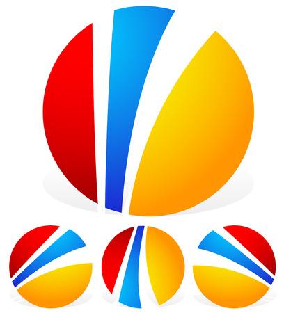 generic: Generic circular emblems, graphics