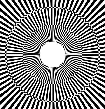 alternating: Radiating pattern with alternating colors, bursting rays (eps10)