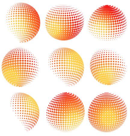 Halbton Sphären Lizenzfrei Nutzbare Vektorgrafiken, Clip Arts ...