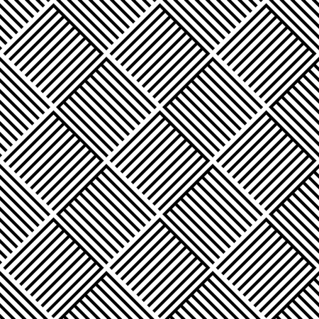 alternating: Alternating lined squares. Seamless pattern in vector format.