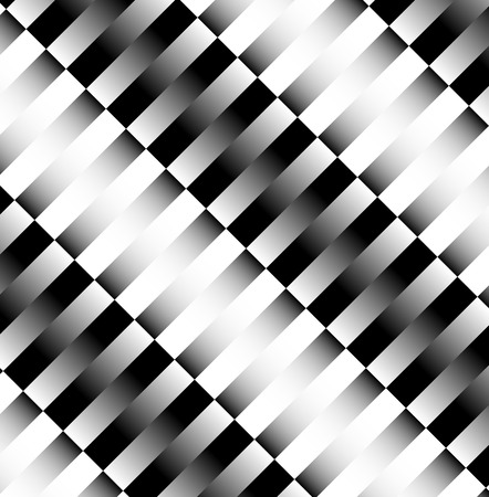 Slanted rectangular pattern with great contrast. Vector