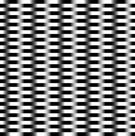 Pattern with alternating bars, rectangles. Vector